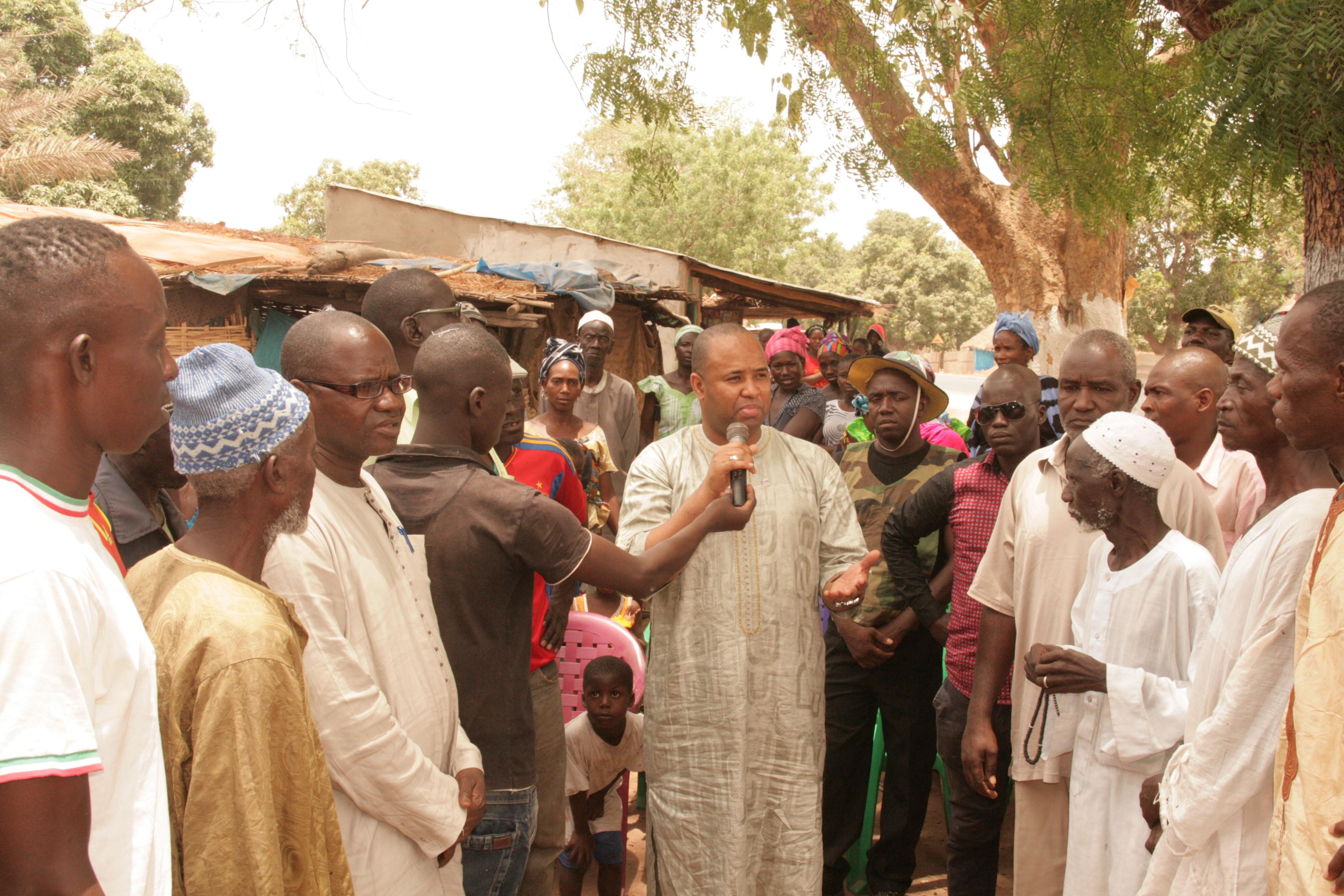 Proximité dans la zone sud : Abdoulaye Baldé sensibilise pour une inscription massive sur les listes