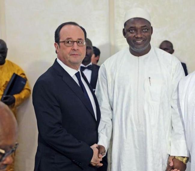 A l'invitation du Président de la République française, le Président de la République de Gambie, M.Adama Barrow, effectue une visite officielle en France du 14 au 15 mars.