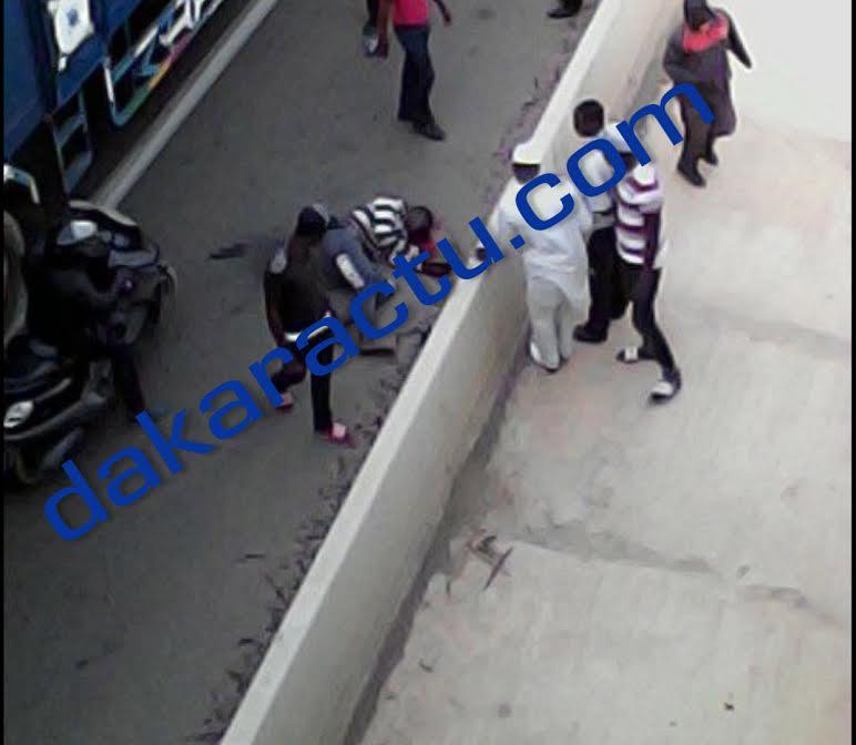 Suicide à Diamaguène : Un jeune homme saute du haut du pont et meurt