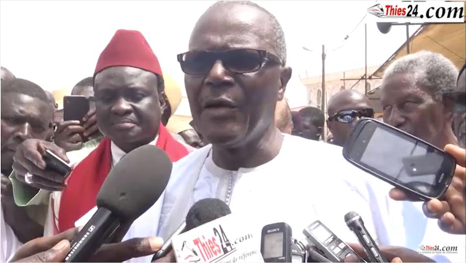 """Ousmane Tanor Dieng à Tivaouane : """"Il y a un moment où on ne restait jamais une semaine sans se voir Serigne Cheikh et moi"""""""