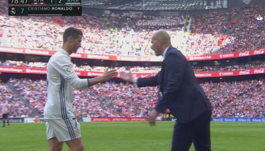 Ronaldo en a insulté Zidane… (vidéo)