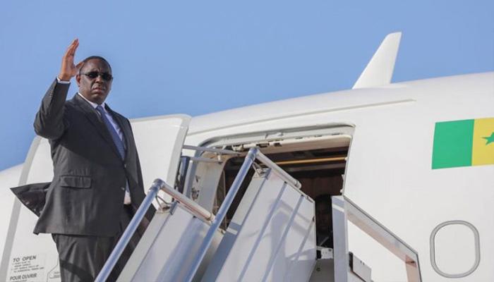 Macky Sall quitte Dakar pour une visite officielle à Genève