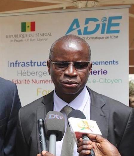 """ALEXANDRE NGOM (maire de Thiomby) : """"Nous sommes dans la formulation du programme « Thiomby Emergent. » '"""