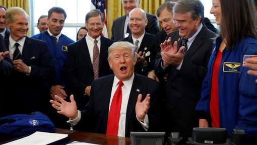 Trump signe la conquête de Mars