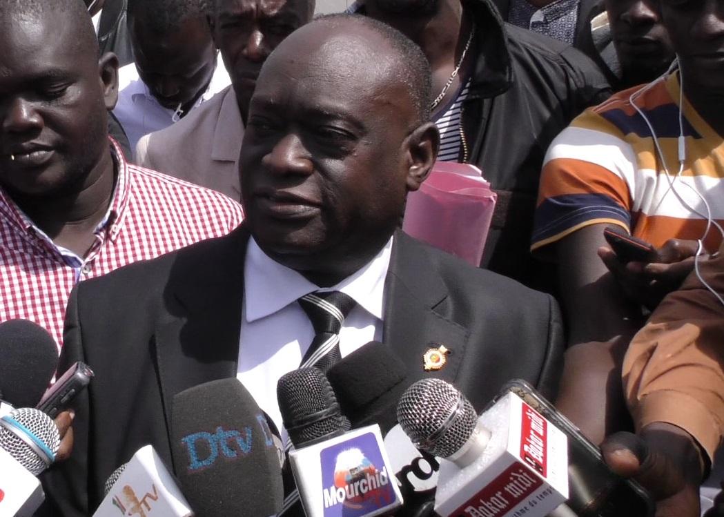 Me El Hadj Diouf après la libération de Bamba Fall et Cie : « … Que le parquet général sache raison garder et ne se pourvoie pas en cassation »