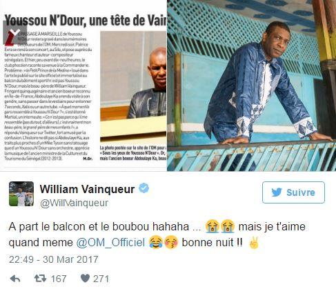 La drôle de bourde de l'OM sur Youssou Ndour
