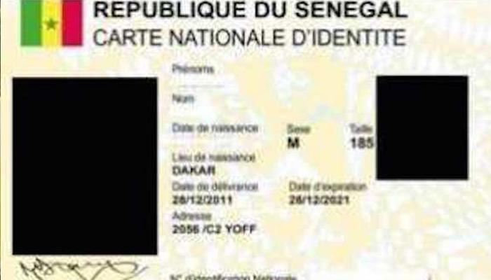 La durée de validité de la carte nationale d'identité prorogée jusqu'au 30 juin