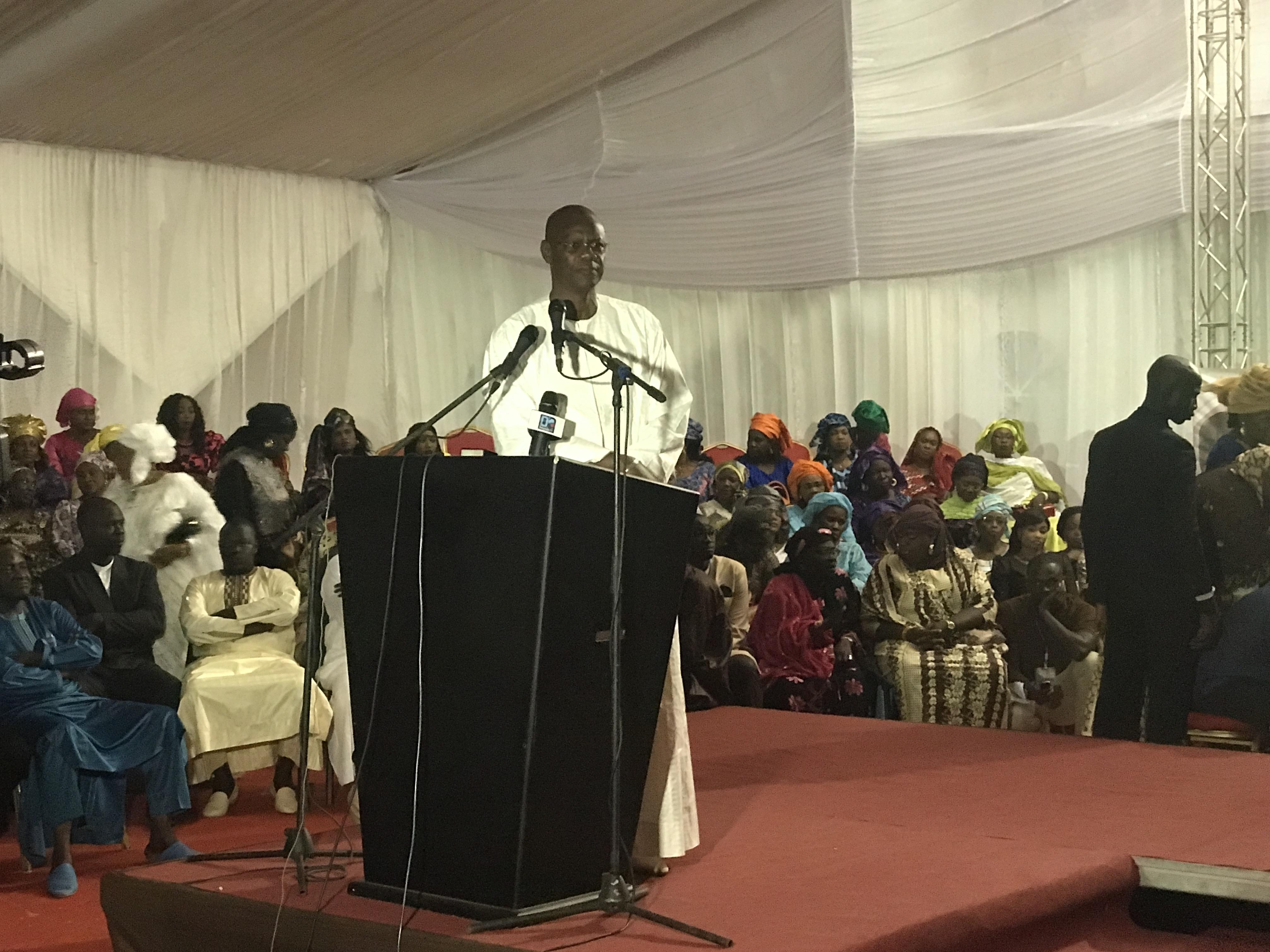 """Mor Ngom : """" Quiconque voudra saboter le travail du Président Macky Sall, nous trouvera sur son chemin """""""