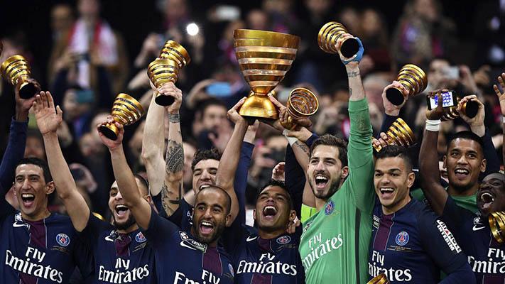 Le PSG a largement battu Monaco en finale de la Coupe de la Ligue