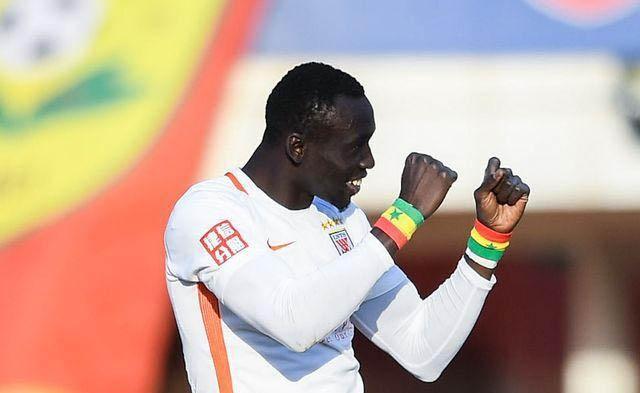 Papis Demba Cissé marque un doublé et offre la victoire à son club