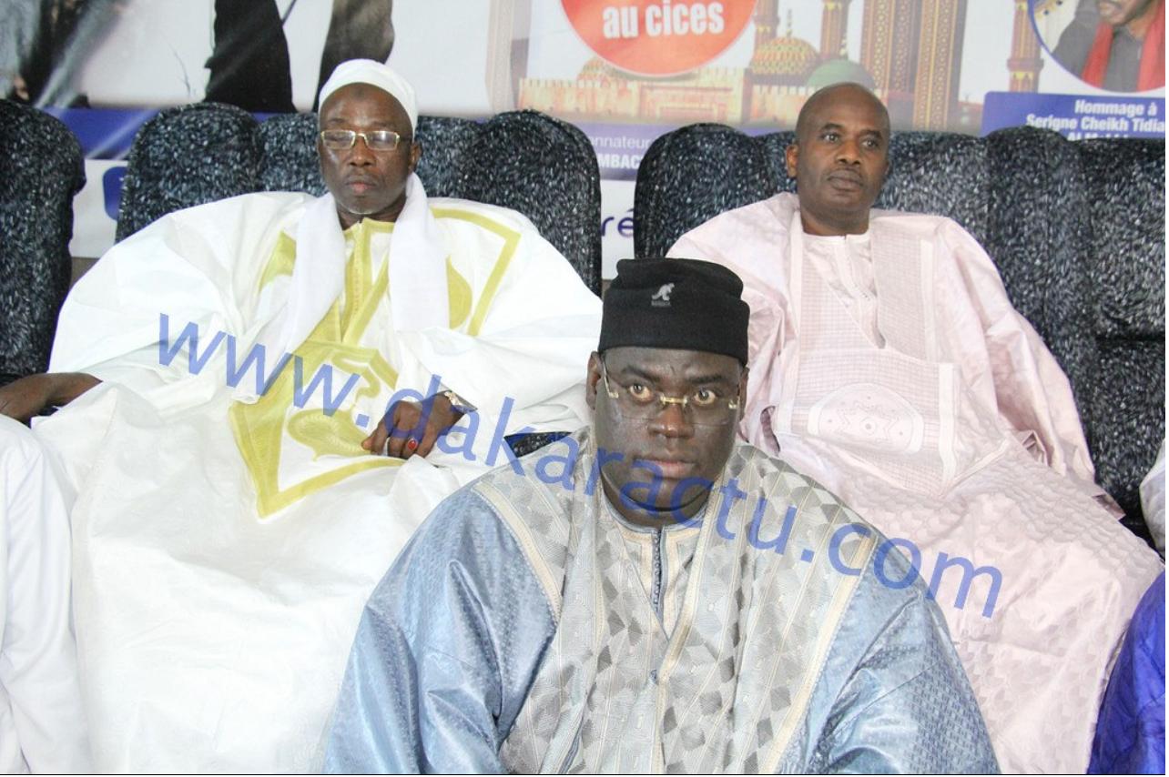 Les images de la cérémonie d'avant première de la journée culturelle Serigne Bara Mbacké au Cices