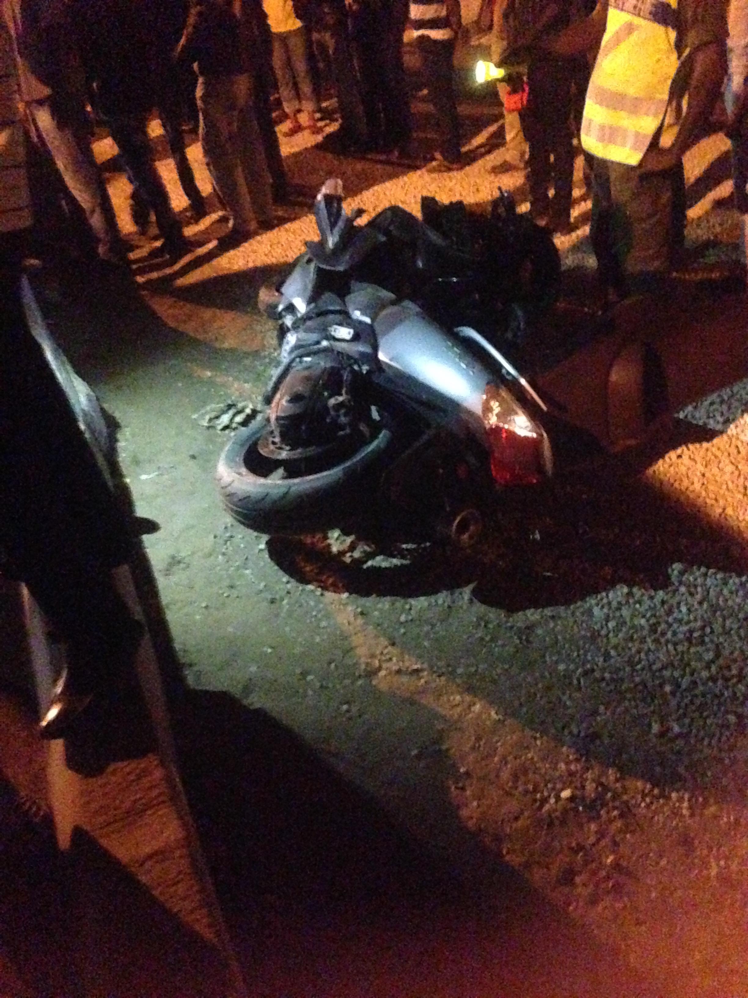 GRAVE ACCIDENT SUR LA VDN : Le conducteur de la moto est finalement décédé