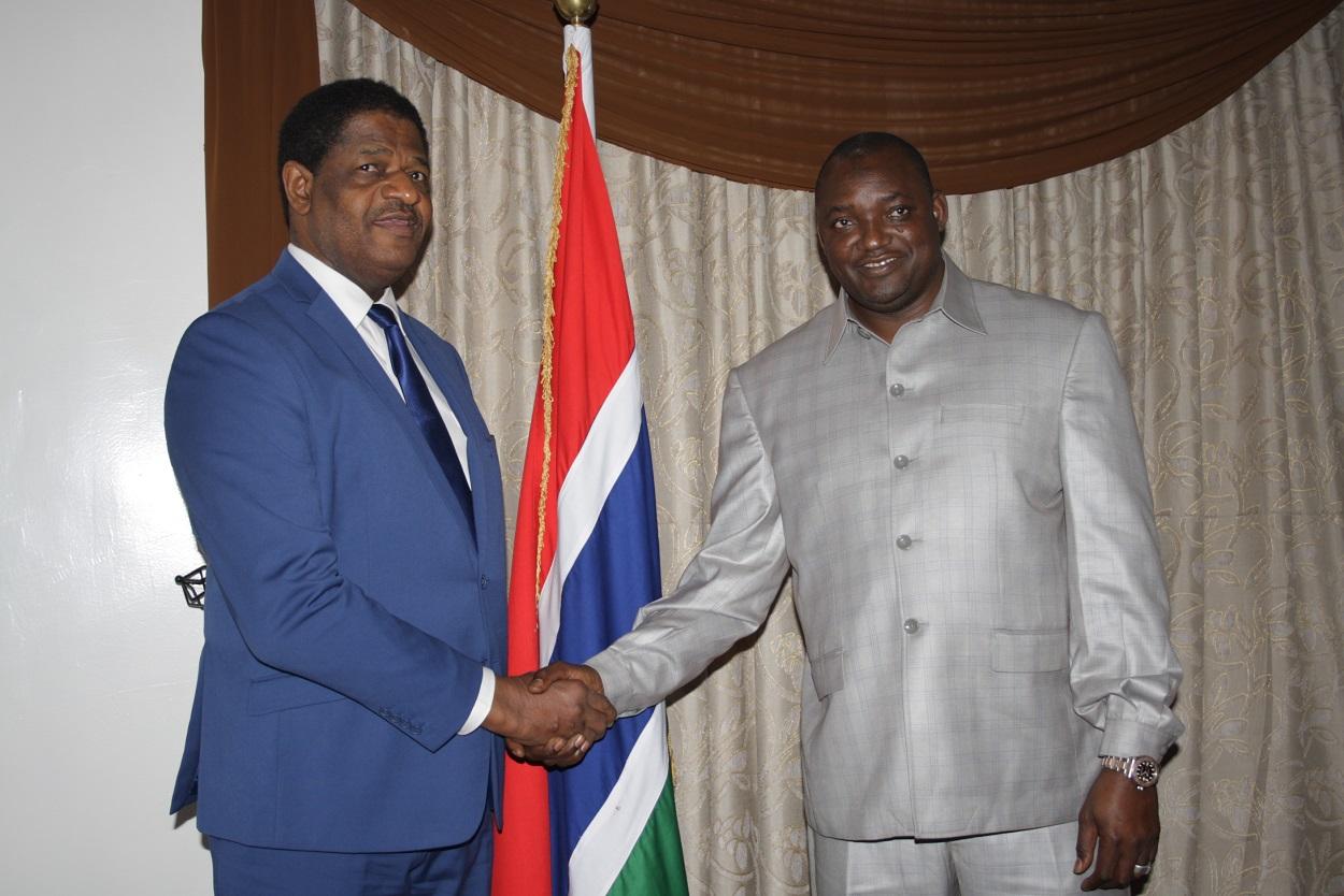 Gambie : Adama Barrow et Marcel de Souza évoquent des questions économiques et sécuritaires