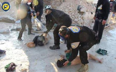 Le bilan de l'attaque chimique en Syrie passe à 100 morts
