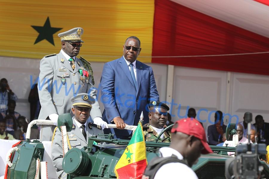 04 AVRIL 2017 :  Les images de la célébration du 57 ème anniversaire de l'indépendance du Sénégal à la place de la Nation