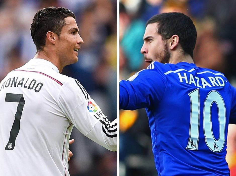 Cristiano Ronaldo ne veut pas d'Eden Hazard au Real Madrid