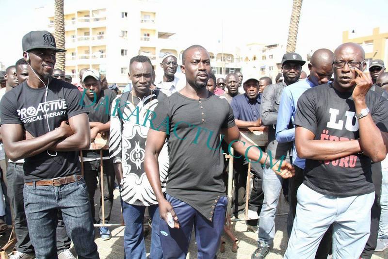 Les Sénégalais chassés des Etats-Unis à la marche de Y'en a marre : « C'est Macky Sall qui nous a fait refouler! »