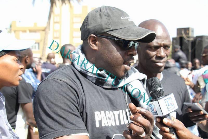 BACHIR DIAWARA À LA MARCHE DE Y EN A MARRE : « Macky a engagé toute l'administration dans la politique »
