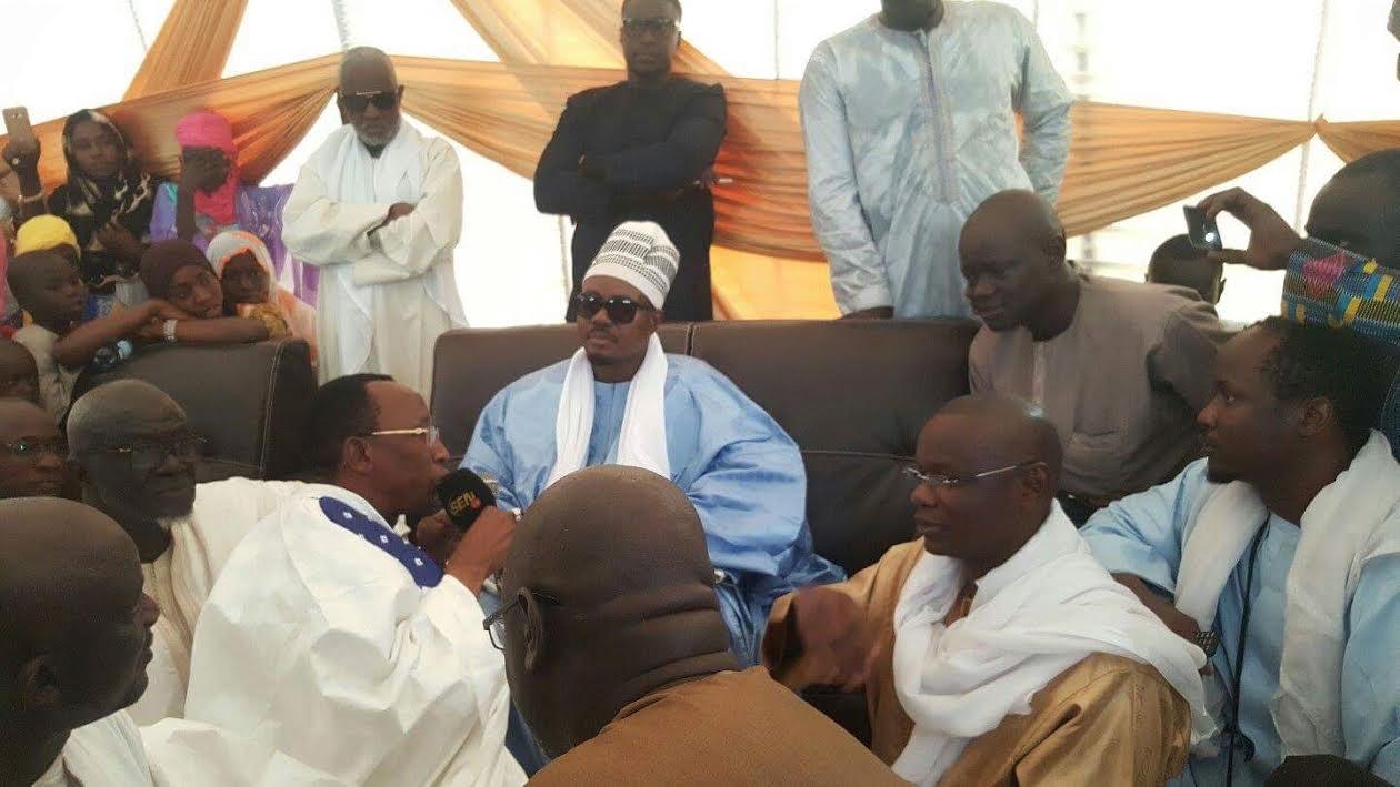 PIKINE : Serigne Bassirou Abdou Khadre Mbacké rend visite à son disciple Abo Sall