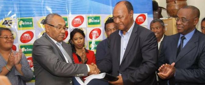 Madagascar : Le président Ahmad Ahmad passe la main