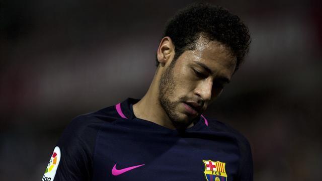 Pas de Neymar pour le Clasico !