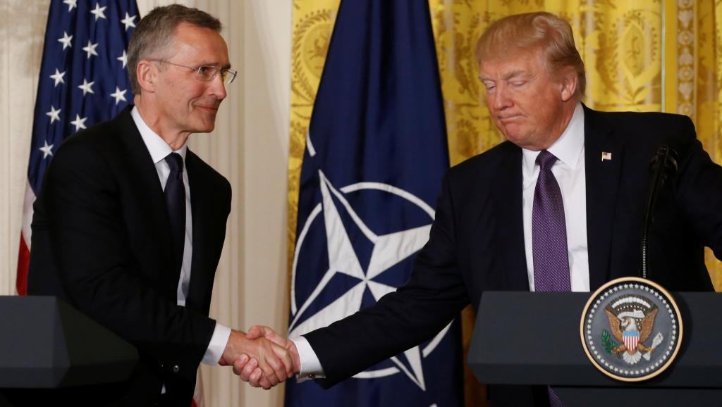 ETATS-UNIS : Donald Trump déclare que l'Otan n'est «plus obsolète»