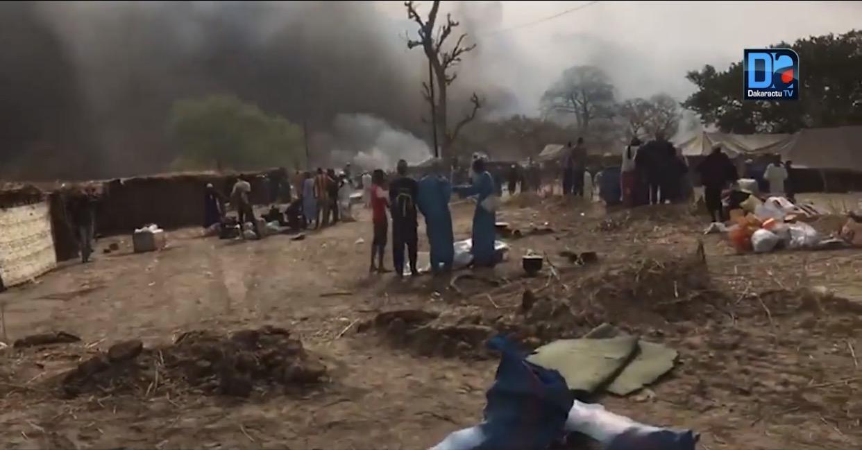 Incendie Daaka Médina Gounass : 5 personnes placées en garde à vue