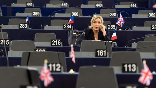 La justice française a demandé la levée de l'immunité de Marine Le Pen
