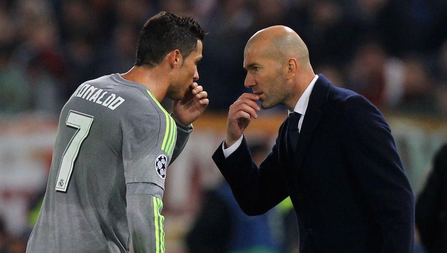 Zidane s'oppose à Ronaldo sur Hazard