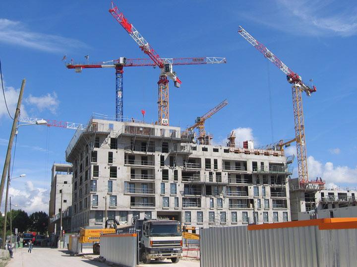 Coût de la construction des bâtiments neufs au 1er Trimestre : Hausse de 2,1%
