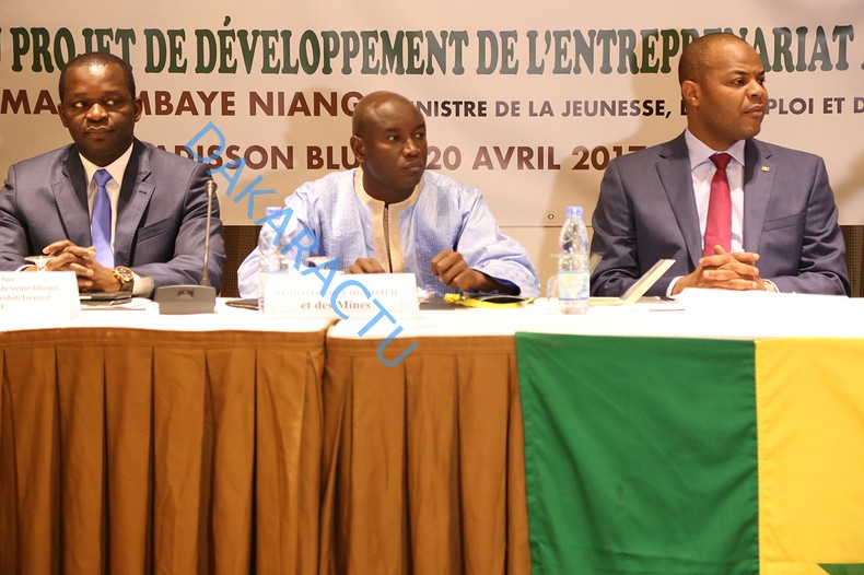 Les images de la cérémonie de lancement d'un projet de développement de l'entrepreneuriat agricole