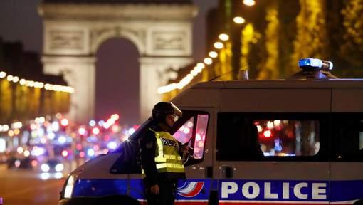 fusillade sur les Champs Elysées : Un policier tué, un autre blessé
