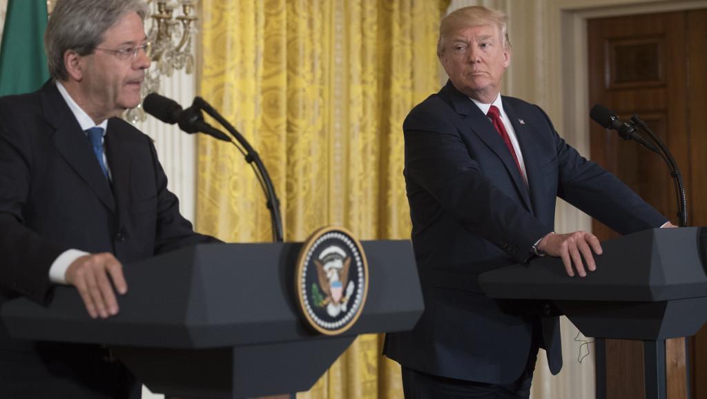 ÉTATS-UNIS: Après les avoir critiqué, Donald Trump entame un rapprochement avec l'Europe