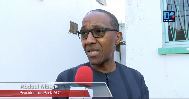 ABDOUL MBAYE SUR LES ÉLECTIONS LÉGISLATIVES : « Nous sommes pour des coalitions »