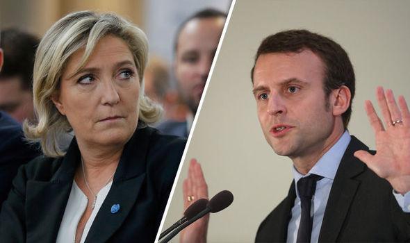 Macron et Le Pen seraient en tête d'un sondage de sortie des urnes