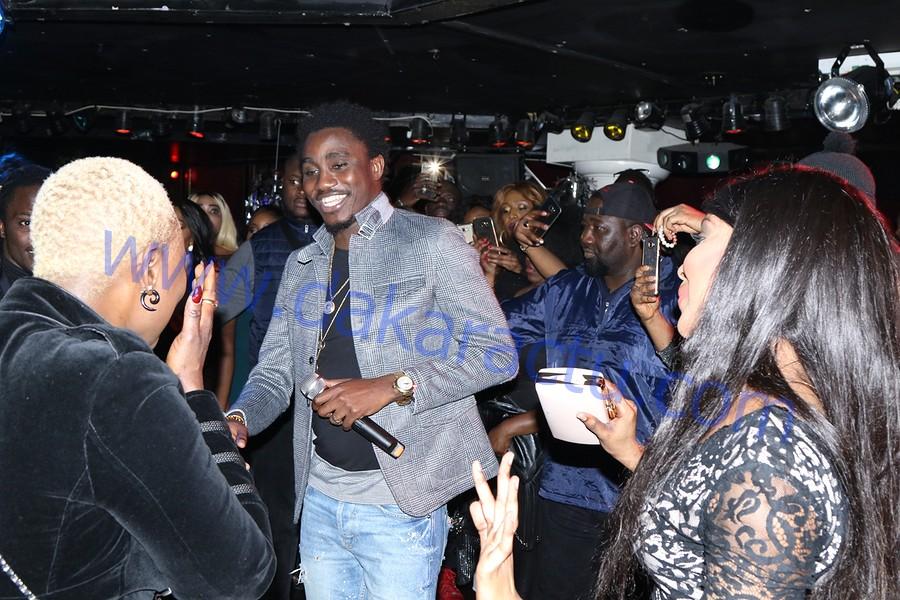 Les images de la soirée Rakhass de Wally Ballago Seck au Titan night-club de Paris