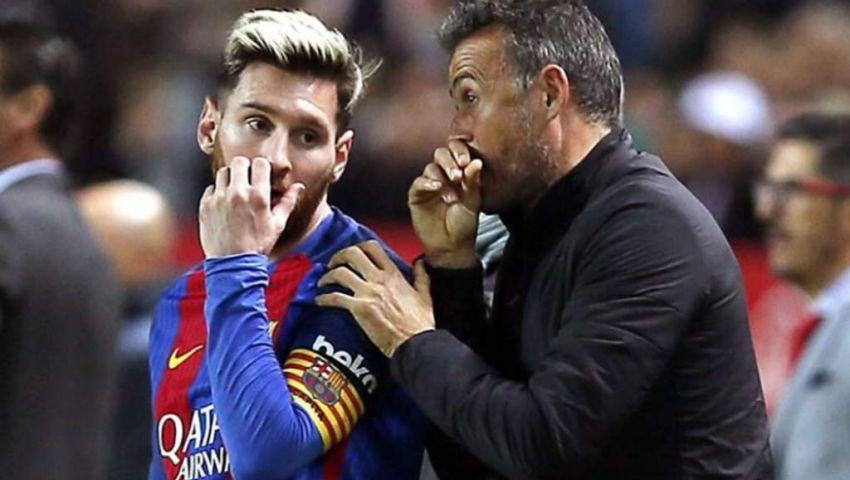 Barça - Luis Enrique : «Messi, le plus grand»