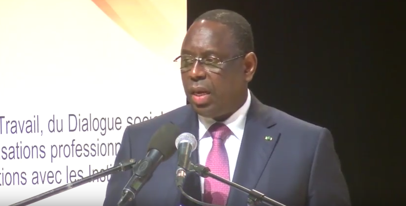 r forme des retraites au s n gal macky sall diagnostique le dysfonctionnement du syst me. Black Bedroom Furniture Sets. Home Design Ideas