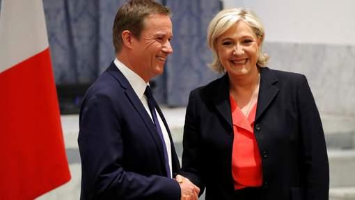 Si elle est élue, Le Pen nommera Dupont-Aignan Premier ministre