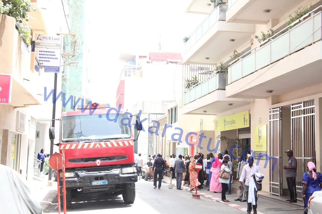 Dernière minute : L'immeuble de la DGPEE évacué après un court-circuit