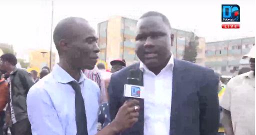 Déthié Fall à la marche de la presse ' sur instruction d'Idrissa Seck '