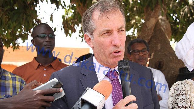 """Christophe Bigot : """"En décorant le DG de l'ISRA, nous saluons le monde agricole sénégalais"""""""