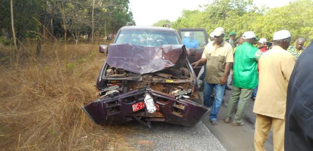 Accident de la route samedi en Guinée: au moins 21 morts (nouveau bilan)