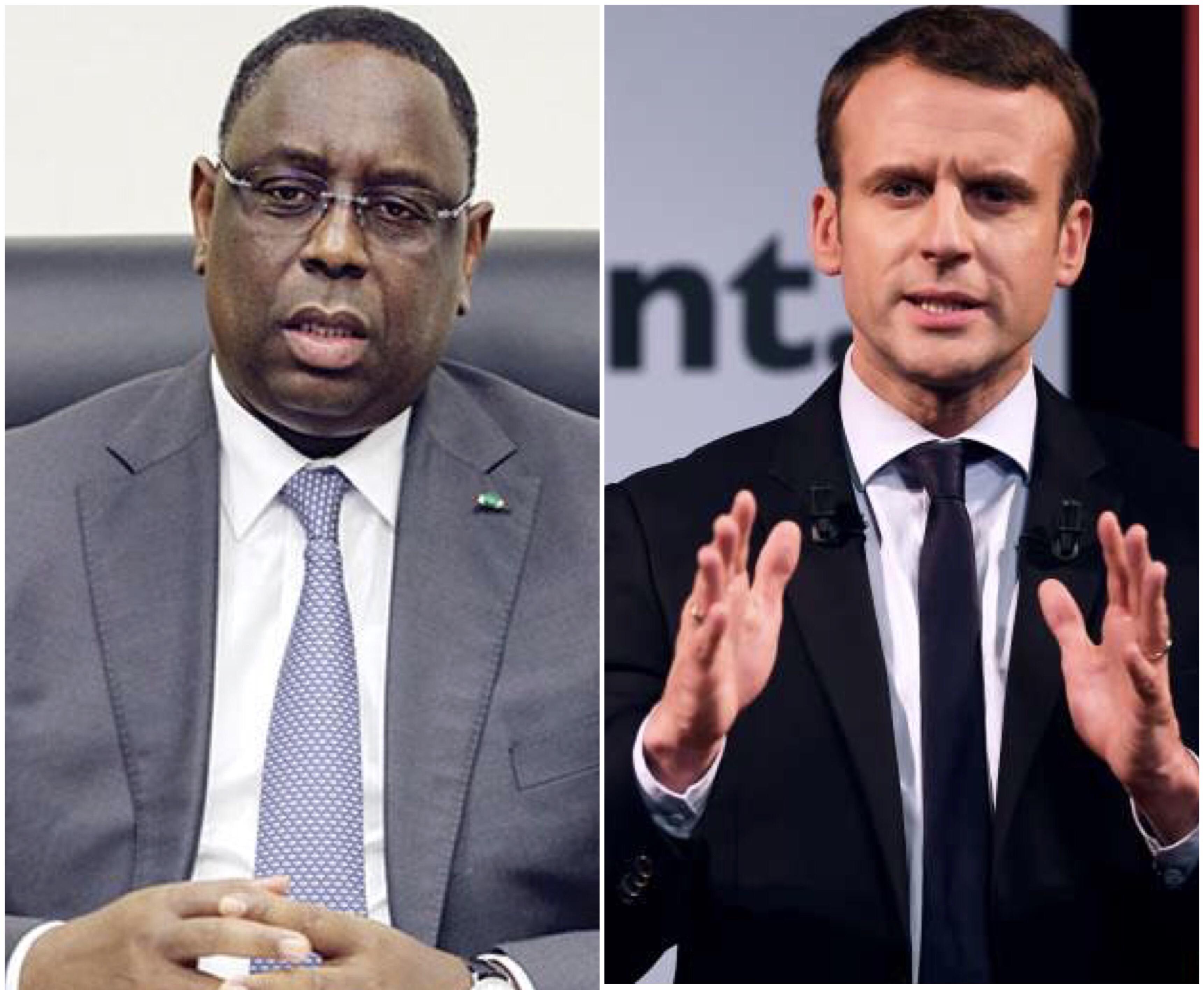 Présidentielle française : Macky Sall félicite le nouveau Président Emmanuel Macron