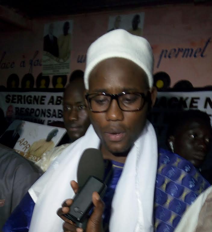 Abdou Lahad Mbacké Ndoulo traite les leaders de l'Apr de Mbacké et Touba de torchon et invite le Président Sall à se méfier d'eux