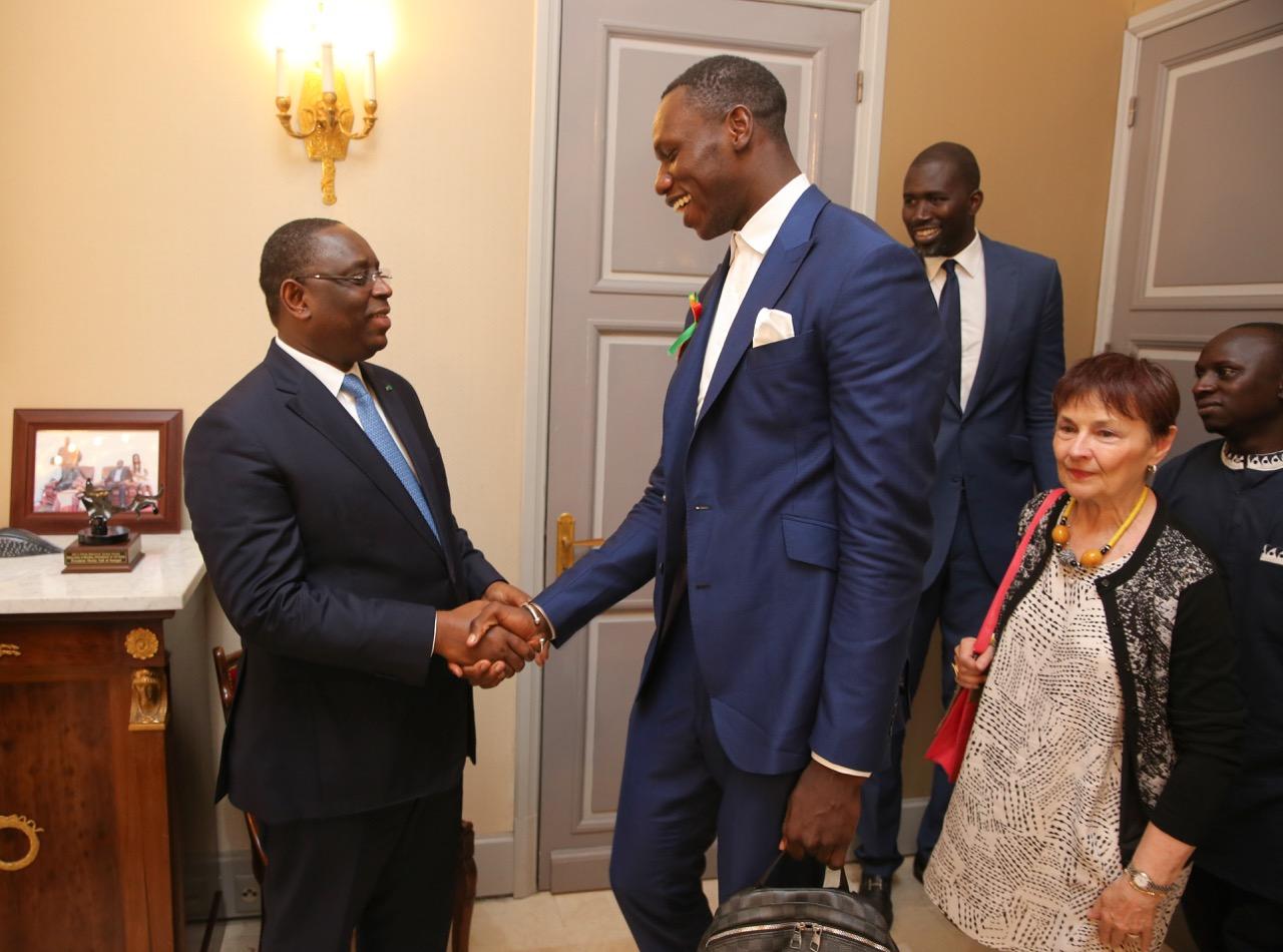AUDIENCE AU PALAIS : Le Président Macky Sall reçoit Gorgui Sy Dieng