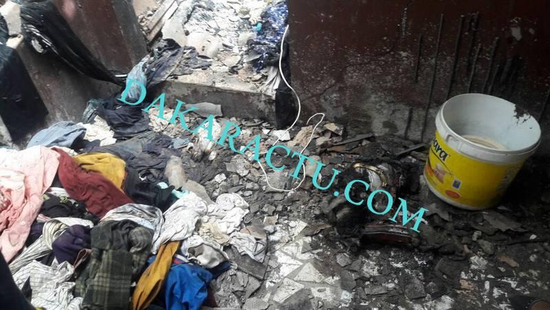 Incendie meurtrier aux Parcelles Assainies : Les images du drame