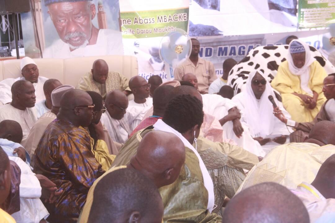 """SERIGNE ABBAS MBACKÉ (Khalife de Darou) : """" ...Des élections apaisées, sans écarts de conduite et sans déclarations insultantes '"""