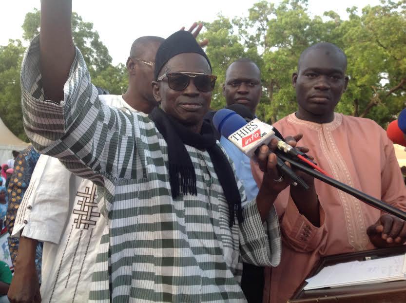 Meeting de l'Afp à Thiès : Aliou Samba Ciss tourne en dérision les pourfendeurs de Macky Sal