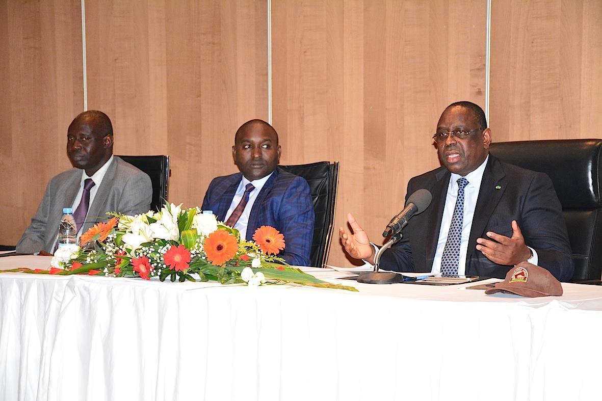 Macky Sall sur les querelles à l'APR : « La politique ce n'est pas insultes et invectives… Les sénégalais n'aiment pas l'arrogance » Macky Sall
